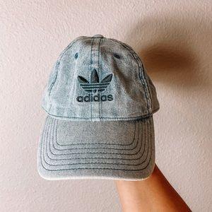 Jean denim adidas baseball hat cap
